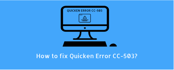 Read more about the article Quicken Error CC-503