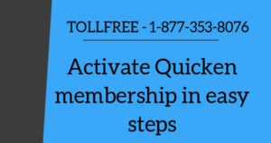 How to activate Quicken membership in Windows and Mac (2018)