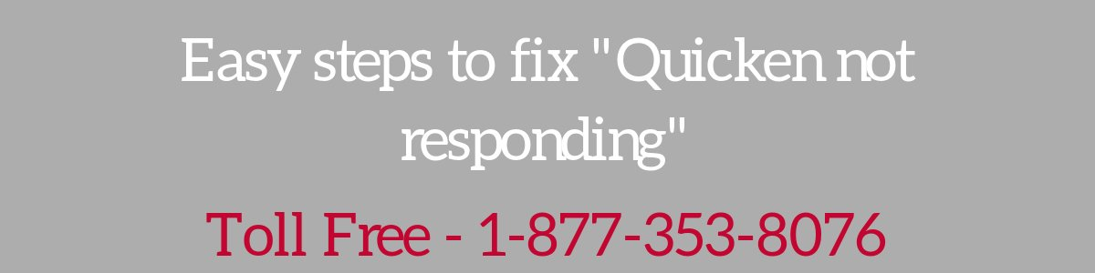 You are currently viewing Quicken Not Responding