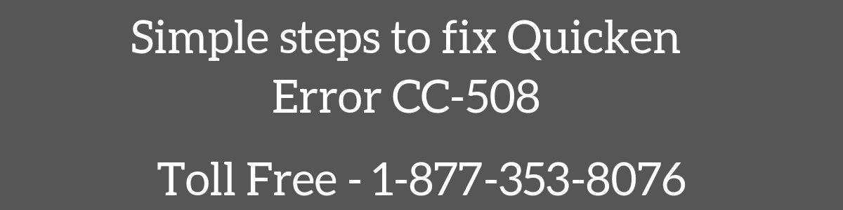 Quicken Error CC-508 (Fixed in 4 Simple Steps) - When