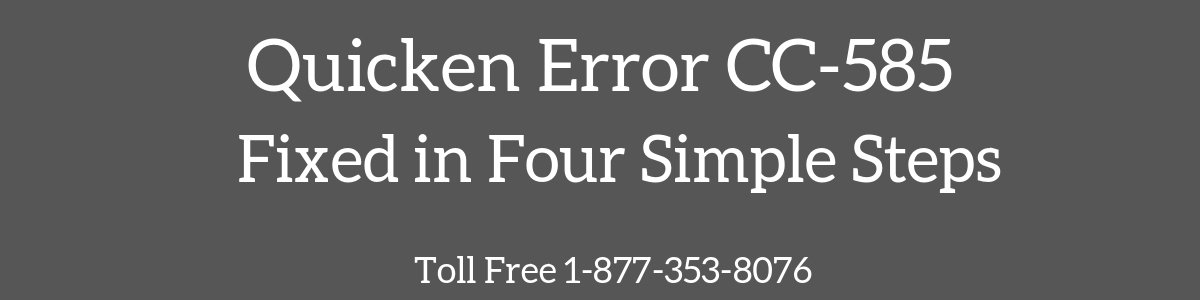 You are currently viewing Quicken Error CC-585 (When Using Online Services)