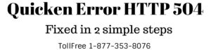 Read more about the article Quicken Error HTTP 504 (During Mobile Sync)