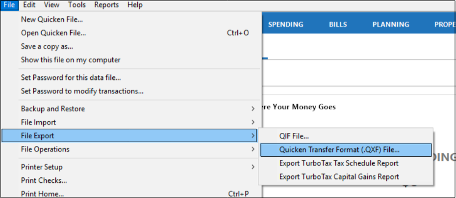 Transfer Quicken Data From One File to Another Using  QXF |Simple Steps