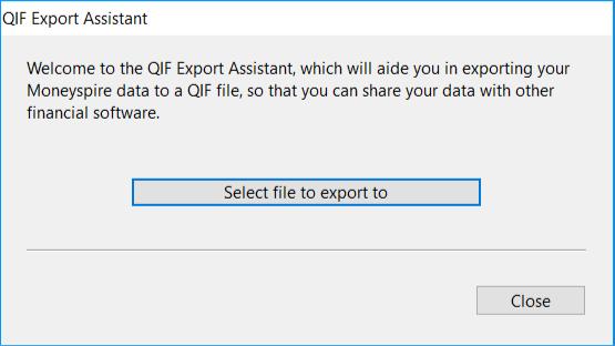 Converting Moneyspire to Quicken (Using QIF format) | Simple