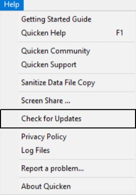 Decrease the Quicken Data File Size