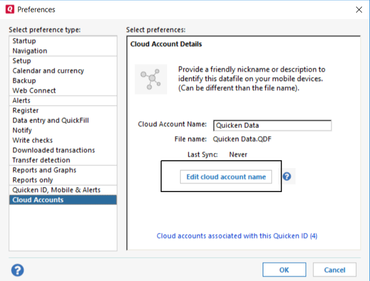 How to Reset or Delete Quicken Cloud Data - Qasolved