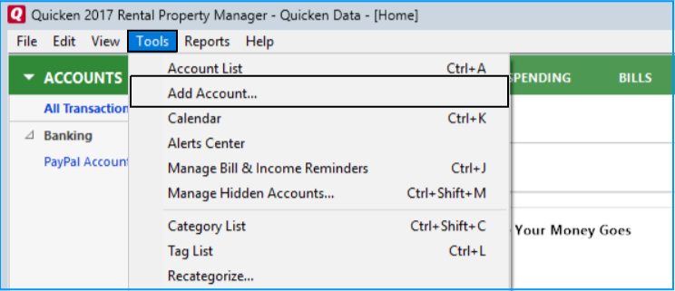 Complete Guide For Quicken (Only For Windows) - Getting Started