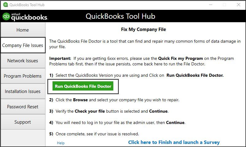 QuickBooks Error Code -6144. -304
